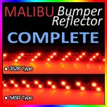 [GOGOCAR] Chevrolet Malibu - Rear Bumper LED Reflector Full Kit