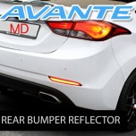 [KABIS] Hyundai The New Avante MD - LED Rear Bumper Reflector Set