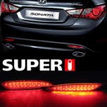 [SUPER I] Hyundai YF Sonata - LED Rear Bumper Reflector Set