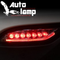[AUTO LAMP] Hyundai Santa Fe DM - Rear LED Reflecctor Set (Red Special)