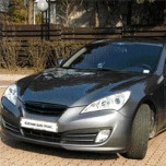 [ARTX] Hyundai Genesis Coupe -  Eagles Carbon Radiator Tuning Grille (5 colors)