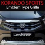 [WithM] SsangYong Korando Sports - Emblem Type Radiator Tuning Grille