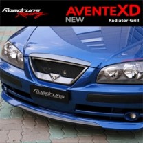 [ROADRUNS] Hyundai New Avante XD - Front Radiator Grille + Garnish