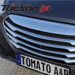Решетка радиатора T-Grill (ХРОМ) - Hyundai Tucson iX (TOMATO)