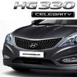 [MOBIS] Hyundai 5G Grandeur HG Celebrity 2013 - Dark Chrome Radiator Grille