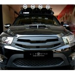 [VIP STYLE] SsangYong Korando Sports - Wide Tuning Extended Grille Set