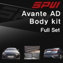 [SPW] Hyundai Avante AD - Full Body Kit Aeroparts Set