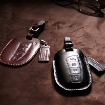 [AEGIS] Hyundai 5G Grandeur HG  - Smart Key Leather Key Holder SEASON III