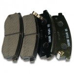 [SANGSIN] Hi-Q Brake Pad Set SP1400 (Front)