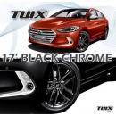 "[MOBIS] Hyundai Avante  AD - TUIX 17"" Black Chrome Wheels Set"