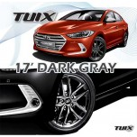 "[MOBIS] Hyundai Avante  AD - TUIX 17"" Dark Gray Alloy Wheels Set"