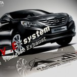 [A.JUN] Hyundai YF Sonata - I.V.E. In Variable Exhaust System Set