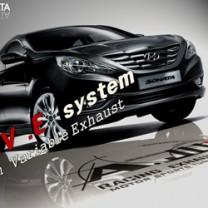 [A.JUN] Hyundai YF Sonata - I.V.E. In Variable Exhaust System Set