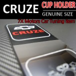 [7X] Chevrolet Cruze - Cup Holder Interior Luxury Plates Set