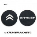 [ARTX] Citroën Grand C4 Picasso - Cup Holder & Console Interior Luxury Plates Set