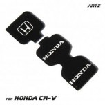 [ARTX] Honda CR-V 4G - Cup Holder & Console Interior Luxury Plates Set