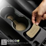 [CACAO] Hyundai Avante MD - Cup Holder & Console Tray Pad Set