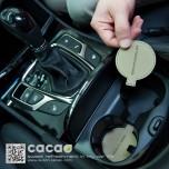 [CACAO] Hyundai 5G Grandeur HG - Cup Holder & Console Tray Pad Set