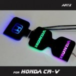 [ARTX] Honda CR-V 4G - LED Cup Holder & Console Interior Luxury Plates Set