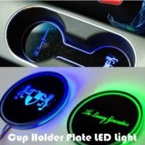 [ARTX] Hyundai Grandeur HG - LED Cup Holder & Console Interior Luxury Plates Set