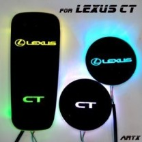 [ARTX] Lexus CT2O0h - LED Cup Holder & Console Interior Luxury Plates Set