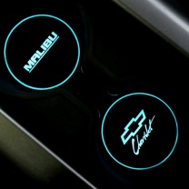 [BRICX] Chevrolet Malibu - LED Cup Holder Plates Set