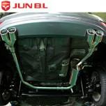 [JUN,B.L] Hyundai New Accent - Twin Rear Section Muffler System (JBL3D-16450)