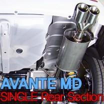 [JUN,B.L] Hyundai Avante MD - Single Rear Section (JBL3D-16182)