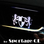 [ARTX] KIA All New Sportage - Luxury Generation LED Inside Door Catch Plates Set