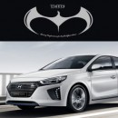 [ARTX] Hyundai Ioniq - Luxury Eagles Tuning Emblem Set