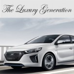 [ARTX] Hyundai Ioniq - Luxury Generation Tuning Emblem Set