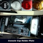[ARTX] KIA All New K7 - Cup Holder & Console Interior Luxury Plates Set