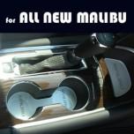 [ARTX] Chevrolet All New Malibu - Cup Holder & Console Interior Luxury Plates Set