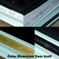 [ARTX] SsangYong Tivoli Air - Color Aluminium Door Sill Scuff Plates