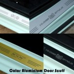 [ARTX] Chevrolet The Next Spark - Color AL Door Sill Scuff Plates (in / out)