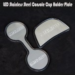 [ARTX] Chevrolet All New Malibu - Stainless Cup Holder & Console Plates Set