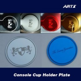 [ARTX] Chevrolet Cruze 2017 - Cup Holder & Console Interior Luxury Plates Set