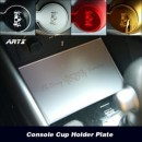 [ARTX] Chevrolet Trax - Cup Holder & Console Interior Luxury Plates Set