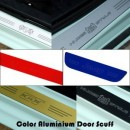 [ARTX] Hyundai Tucson iX - Color Aluminium Door Sill Scuff Plates