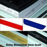 [ARTX] Hyundai Santa Fe CM - Color Aluminium Door Sill Scuff Plates