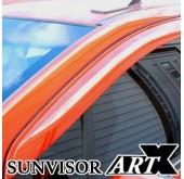 Дефлекторы боковых окон Luxury - Chevrolet Cruze 2017 (ARTX)