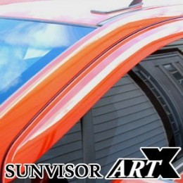 [ARTX] Chevrolet Cruze 2017 - Luxury Sun Visor Set (Body Color / Carbon)