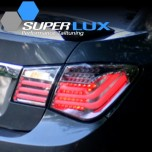 [SUPER LUX] Chevrolet Cruze - BMW Style LED Taillights Ver.2 BLACK