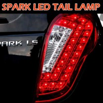 [BRICX] Chevrolet Spark - Premium LED Tail Lamp Set Ver.2