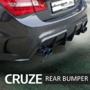 [MYRIDE] Chevrolet Cruze - Rear Bumper Set