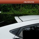 [ARTX] Hyundai Avante MD - Glass Wing Roof Spoiler