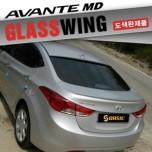 [SQ BASIC] Hyundai Avante MD - Glass Wing Roof Spoiler