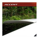 [ARTX] Hyundai New Accent - Glass Wing Roof Spoiler