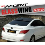 [SQ BASIC] Hyundai New Accent - Glass Wing Roof Spoiler