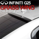 [GREENTECH] Infiniti G25 - Glass Wing Roof Spoiler